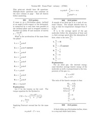 Exam Final-solutions