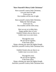 ALL I WANT FOR CHRISTMAS IS YOU LYRICS - ALLIWANTFOR CHRISTMASISYOU PRESENTS GIVE-ME DURING ...