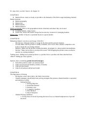 BUS 113 Final Study Guide