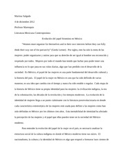 final ensayo 3 spanish essay