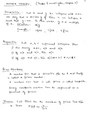 L12-Number Theory