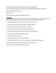 O'Connor 4210 CF7 Biomedical and Research Support Homework(1).docx