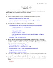 Bio 430 Exam 2 Study guide parts 1 and 2.docx
