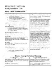 Communicable and Non Communicable Disease Lesson Plan.doc