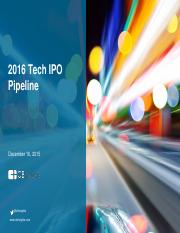 2016-Tech-IPO-Pipeline-Report-II