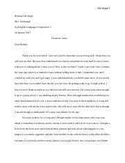 The Catcher in the Rye Character Letter. word.docx