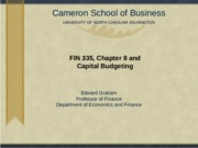 Chapter8Capital Budgeting