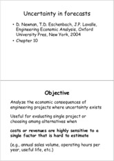 Engineering Economics-Forecast