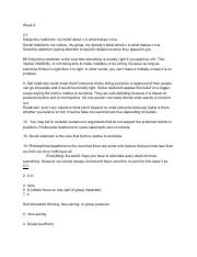 Critical reasoning Unit 1 notes
