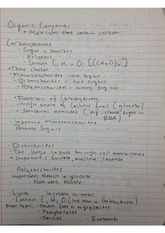 organic compounds notes