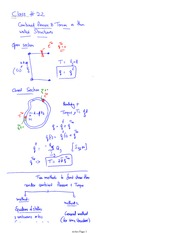 Class 23 Notes problems and solutions