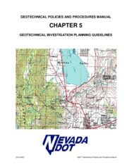 2005_geotechnical investigation planning guidelines
