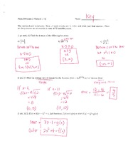 exam1 quiz key This page presents exam 1 problems and solutions, along with practice problems and solutions.