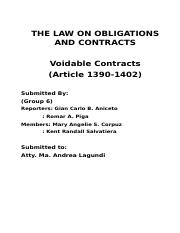 Law_Voidable Contracts.docx