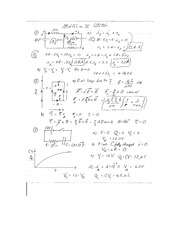 Midterm Two Solution