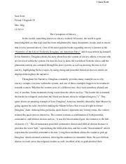 Frederick douglass essays