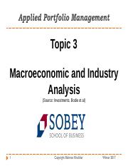 6672 - Topic 3 - Economic and Industry Analysis.pdf