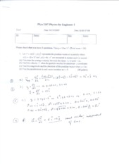 Copy of Phys2107-test1-solution-FL2007