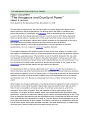 The_Arrogance_and_Cruelty_of_Power Text _ Questions (1).doc