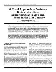 A Novel Approach to Business ethics.pdf