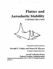 Flutter and aeroelastic stability.pdf