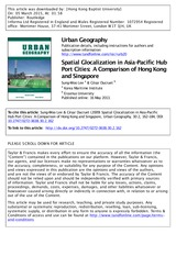 Spatial glocalization in asia-pacific hub port cities_a comparison of HK and SGP