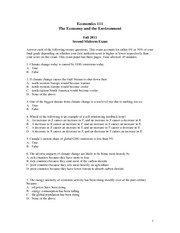 ECON 111 Midterm 2 Fall 2011 Solutions