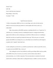KNS 380 Extra Credit Reading Answers 2.docx