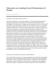 Education_as_Leading_Social_Determinant_of_Health-04_14_2008