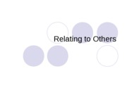 CMN 101 lecture 2 on relating to others