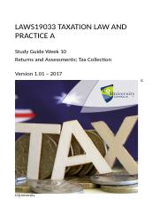 LAWS19033_10_ 2017_Returns and Assessment Tax Collection_v1.01e.docx