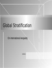 Global Stratification.ppt