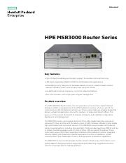 HPE MSR3000 Router Series.pdf