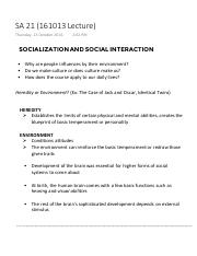 Socialization and Social Interaction (Sociology and Anthropology).pdf