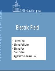 4. Electric Field (2)