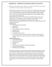BSBMED302 PREPARE AND PROCESS MEDICAL ACCOUNTS PAGE 8.docx
