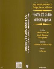 Yung Kuo Lim Major American Univerities Electromagnetism pdf