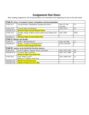 WL II Syllabus Spring 2009 Revised 0309