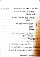 Research Design Notes