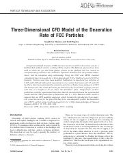 29 - Three-dimensional CFD model of the deaeration rate of FCC particles.pdf