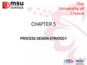 CHAPTER 5_Process Design Strategy2015