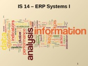 IS13_ERP 1- Fall2013