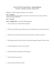 Lord of the Flies Study Guide (1)
