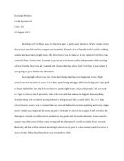 New Beginnings Paper