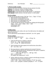 Ch11 worksheet key