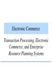 3. Internet Commerce