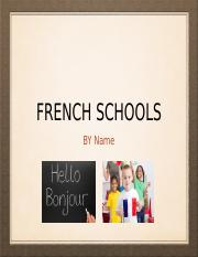French School Presentation.ppt