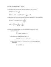 Answers - Extra Problem Set 7