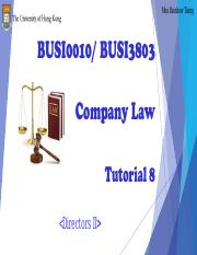Company Law Tutorial 8_Moodle