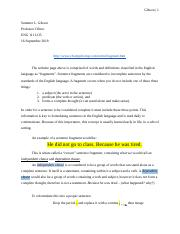 Grammar How to - FRAGMENTS.docx